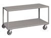 MOBILE TABLES - WITH STEEL CASTERS